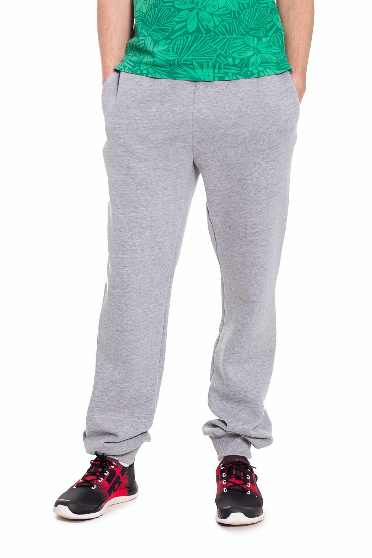 БрюкиБрюки<br>Удобные мужские брюки. Отличный вариант для активного отдыха.  Цвет: серый  Рост мужчины-фотомодели 182 см<br><br>По сезону: Осень,Весна<br>Размер : 46/182,54/176,56/176<br>Материал: Трикотаж<br>Количество в наличии: 6