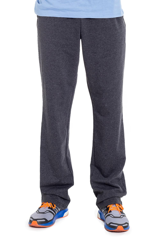 БрюкиБрюки<br>Мужские хлопковые брюки из трикотажа. Отличный выбор для повседневного гардероба и активного отдыха.  Цвет: серый  Рост мужчины-фотомодели 182 см<br><br>По сезону: Всесезон<br>Размер : 46,48,50,52,54,56<br>Материал: Трикотаж<br>Количество в наличии: 21