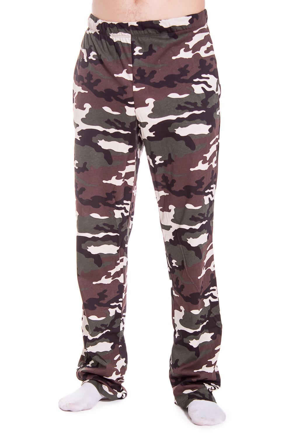 БрюкиБрюки<br>Мужские хлопковые брюки. Отличный вариант для активного отдыха и для домашнего использования.  В изделии использованы цвета: зеленый, коричневый, белый.<br><br>По сезону: Всесезон<br>Размер : 44<br>Материал: Трикотаж<br>Количество в наличии: 1