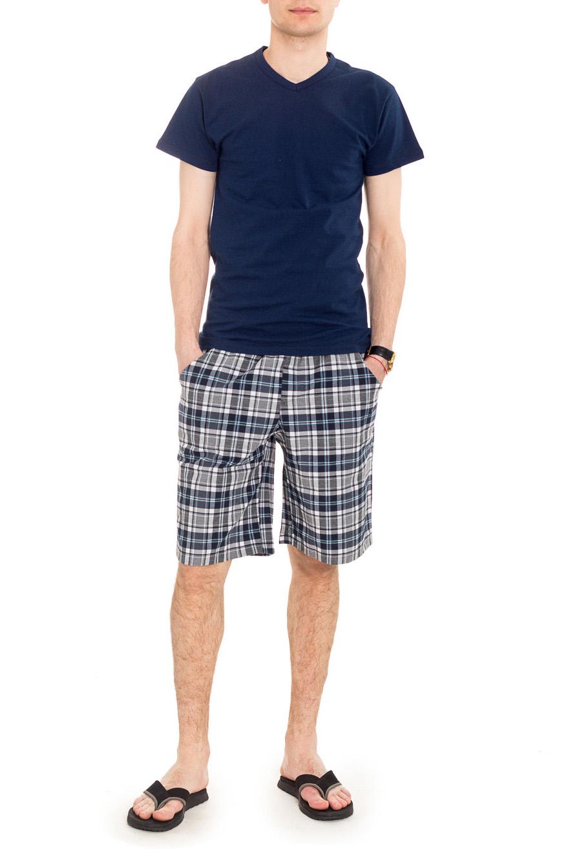 ШортыШорты<br>Чудесные хлопковые шорты, которые подойдут как для домашнего использования, так и для летних прогулок.  Цвет: серый, голубой и др.  Рост мужчины-фотомодели 182 см<br><br>По сезону: Всесезон<br>Размер : 48<br>Материал: Хлопок<br>Количество в наличии: 1