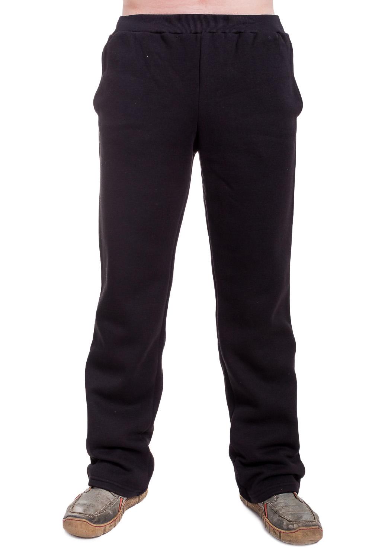БрюкиБрюки<br>Мужские хлопковые брюки. Отличный вариант для активного отдыха.  Цвет: черный  Ростовка изделия 182 см.<br><br>По сезону: Осень,Весна<br>Размер : 46,48,50,52,54,56<br>Материал: Трикотаж<br>Количество в наличии: 6