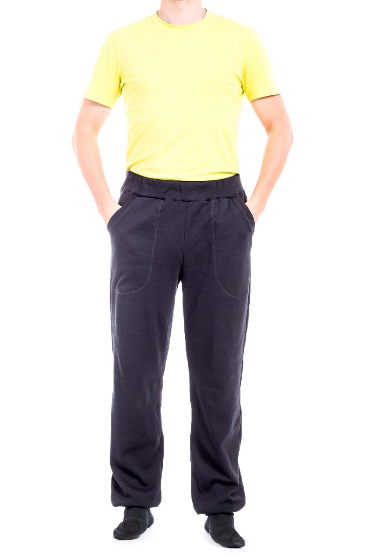 БрюкиБрюки<br>Удобные мужские брюки из плотного трикотажа. Отличный выбор для занятий спортом или активного отдыха.  Цвет: черный  Ростовка изделия 182-188 см.<br><br>По сезону: Осень,Весна<br>Размер : 50-52<br>Материал: Трикотаж<br>Количество в наличии: 3