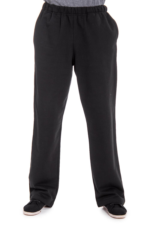 БрюкиБрюки<br>Удобные и практичные мужские брюки. Модель выполнена из эластичного трикотажа. Отличный выбор для занятий спортом или активного отдыха. Ростовка изделия 176 см.  Цвет: черный  Рост мужчины-фотомодели 177 см<br><br>По сезону: Всесезон<br>Размер : 52<br>Материал: Трикотаж<br>Количество в наличии: 1