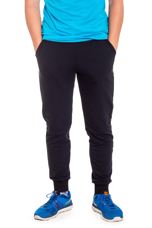 БрюкиБрюки<br>Спортивные мужские брюки из эластичного трикотажа. Отличный выбор для занятий спортом или активного отдыха.  В изделии использованы цвета: черный  Ростовка изделия 182 см.<br><br>По сезону: Осень,Весна<br>Размер : 44,46,48,50,52<br>Материал: Трикотаж<br>Количество в наличии: 10
