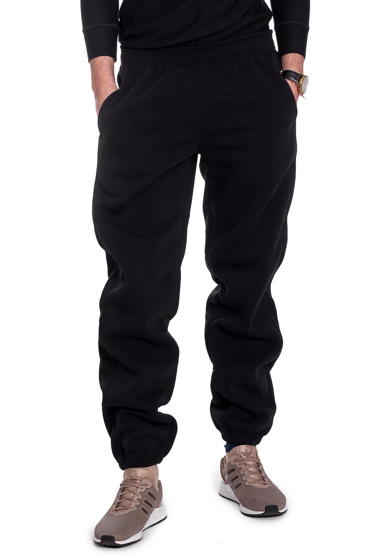 БрюкиБрюки<br>Мужские трикотажные брюки. Отличный вариант для активного отдыха и для домашнего использования.  Рост мужчины-фотомодели 182 см.  Цвет: черный.<br><br>По сезону: Осень,Весна<br>Размер : 46,48,50<br>Материал: Трикотаж<br>Количество в наличии: 8