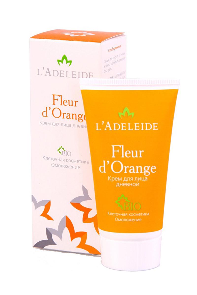 Крем дневной Fleur dOrangeКремы для лица<br>Клеточный комплекс для лица Fleur d'Orange – это косметика последнего поколения, разработанная против первых признаков старения. Разглаживает морщины, моделирует овал лица, увлажняет и укрепляет кожу. Активные компоненты крема на 100% натурального, растительного происхождения. В основе эффективности крема – клеточный комплекс MATRIXYL Synthe 6, гиалуроновая кислота и натуральные экстракты (апельсин, лимон, мандарин, яблоко, земляника и сахарный тростник). 0% парабенов, силиконов, искусственных красителей, ланолина, минеральных масел. Гипоаллергенно.   Активные компоненты: Matrixyl Synthe 6™ - клеточный комплекс, заполняющий морщины изнутри, способствует устранению мимических морщин, стимулируя восстановление дермы. Гиалуроновая кислота 100% натурального происхождения Cristalhyal - увлажняющий компонент, предупреждает преждевременное старение. Xyliance обладает увлажняющими и восстанавливающими свойствами. Масло виноградной косточки оказывает питательное и омолаживающее действие. Cetiol Sensoft придает коже бархатистость. Д- Пантенол обладает регенерирующим, увлажняющим и разглаживающим действием. Аллантоин увлажняет, успокаивает, стимулирует образование здоровых тканей.  Способ  применения: Каждое утро наносите на очищенную кожу лица небольшое количество крема.  Состав: вода, Xyliance (натуральный эмульгатор), масло виноградной косточки, Cetiol® Sensoft (эмолент), гиалуроновая кислота, Matrixyl Synthe 6™, Cetiol C-5 (натуральный эмолент), аллантоин, полиакрилат натрия, пантенол, EumulgiSG (натуральный соэмульгатор), Oxynex 2004 (антиоксидант), консервант, парфюмерная композиция.  Объем: 50 мл.<br><br>Тип аромата: Легкий,Фруктовый<br>Тип кожи: Зрелая кожа<br>Тип проблемы: Морщины<br>Эффект: Питание,Увлажнение,Успокаивающий<br>Размер : UNI<br>Количество в наличии: 1