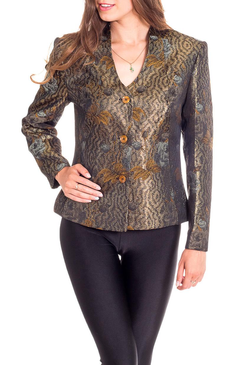 БлузкаЖакеты<br>Цветная блузка с длинными рукавами. Модель выполнена из приятного материала. Отличный выбор для повседневного гардероба.  В изделии использованы цвета: коричневый, желтый и др.  Рост девушки-фотомодели 170 см.<br><br>Застежка: С пуговицами<br>По материалу: Тканевые<br>По рисунку: С принтом,Цветные<br>По силуэту: Полуприталенные<br>По стилю: Повседневный стиль<br>Рукав: Длинный рукав<br>По сезону: Осень,Весна<br>Размер : 44<br>Материал: Костюмная ткань<br>Количество в наличии: 1