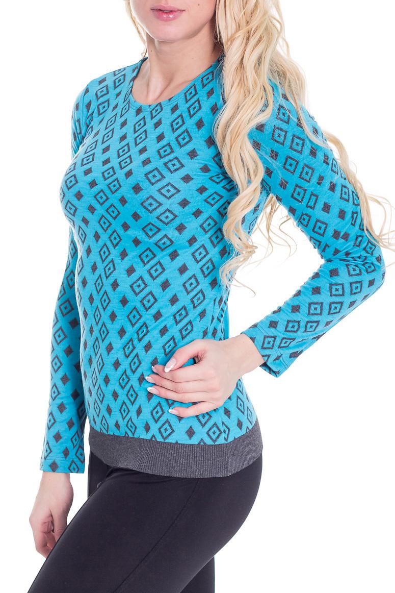 ДжемперДжемперы<br>Красивый джемпер с длинными рукавами. Модель выполнена из плотного трикотажа. Отличный выбор для повседневного гардероба.  Цвет: голубой, серый  Рост девушки-фотомодели 170 см.<br><br>Горловина: С- горловина<br>По материалу: Трикотаж<br>По образу: Город,Свидание<br>По рисунку: Геометрия,Цветные<br>По сезону: Весна,Осень<br>По силуэту: Приталенные<br>По стилю: Повседневный стиль<br>Рукав: Длинный рукав<br>Размер : 42,50,52<br>Материал: Трикотаж<br>Количество в наличии: 4