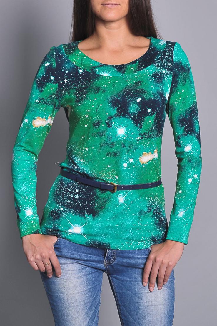 БлузаБлузки<br>Удобная блузка приталенного силуэта. Модель выполнена из мягкой вискозы. Отличный выбор для повседневного гардероба. Блузка без пояса.  В изделии использованы цвета: зеленый, синий и др.  Ростовка изделия 170 см.<br><br>Горловина: С- горловина<br>По материалу: Вискоза<br>По рисунку: С принтом,Цветные<br>По сезону: Весна,Зима,Лето,Осень,Всесезон<br>По силуэту: Приталенные<br>По стилю: Повседневный стиль<br>Рукав: Длинный рукав<br>Размер : 46,48,52,54<br>Материал: Вискоза<br>Количество в наличии: 4