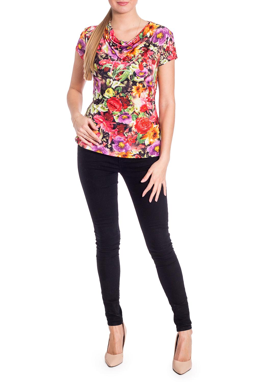 ДжемперБлузки<br>Цветной джемпер с горловиной quot;качельquot; и короткими рукавами. Модель выполнена из приятного трикотажа. Отличный выбор для любого случая.  В изделии использованы цвета: красный, розовый и др.  Рост девушки-фотомодели 170 см  Параметры размеров: 42 размер - обхват груди 84 см., обхват талии 66 см., обхват бедер 90 см. 44 размер - обхват груди 88 см., обхват талии 70 см., обхват бедер 94 см. 46 размер - обхват груди 92 см., обхват талии 74 см., обхват бедер 98 см. 48 размер - обхват груди 96 см., обхват талии 78 см., обхват бедер 102 см. 50 размер - обхват груди 100 см., обхват талии 82 см., обхват бедер 106 см. 52 размер - обхват груди 104 см., обхват талии 86 см., обхват бедер 110 см. 54 размер - обхват груди 108 см., обхват талии 92 см., обхват бедер 116 см. 56 размер - обхват груди 112 см., обхват талии 98 см., обхват бедер 122 см. 58 размер - обхват груди 116 см., обхват талии 104 см., обхват бедер 128 см. 60 размер - обхват груди 120 см., обхват талии 110 см., обхват бедер 134 см. 62 размер - обхват груди 124 см., обхват талии 118 см., обхват бедер 140 см. 64 размер - обхват груди 128 см., обхват талии 126 см., обхват бедер 146 см. 66 размер - обхват груди 132 см., обхват талии 132 см., обхват бедер 152 см. 68 размер - обхват груди 138 см., обхват талии 140 см., обхват бедер 158 см.<br><br>Горловина: Качель<br>По материалу: Трикотаж<br>По рисунку: Растительные мотивы,С принтом,Цветные,Цветочные<br>По сезону: Весна,Зима,Лето,Осень,Всесезон<br>По силуэту: Приталенные<br>По стилю: Повседневный стиль<br>Рукав: Короткий рукав<br>Размер : 44,48,50,54,56,58<br>Материал: Масло<br>Количество в наличии: 6