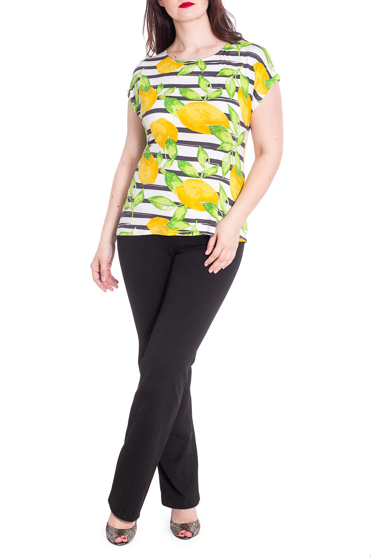 ДжемперБлузки<br>Блузка прямого силуэта со спущенным плечём.. Модель выполнена из приятного материала. Отличный выбор для любого случая.  В изделии использованы цвета: желтый, зеленый, белый и др.  Рост девушки-фотомодели 180 см  Параметры размеров: 42 размер - обхват груди 84 см., обхват талии 66 см., обхват бедер 90 см. 44 размер - обхват груди 88 см., обхват талии 70 см., обхват бедер 94 см. 46 размер - обхват груди 92 см., обхват талии 74 см., обхват бедер 98 см. 48 размер - обхват груди 96 см., обхват талии 78 см., обхват бедер 102 см. 50 размер - обхват груди 100 см., обхват талии 82 см., обхват бедер 106 см. 52 размер - обхват груди 104 см., обхват талии 86 см., обхват бедер 110 см. 54 размер - обхват груди 108 см., обхват талии 92 см., обхват бедер 116 см. 56 размер - обхват груди 112 см., обхват талии 98 см., обхват бедер 122 см. 58 размер - обхват груди 116 см., обхват талии 104 см., обхват бедер 128 см. 60 размер - обхват груди 120 см., обхват талии 110 см., обхват бедер 134 см. 62 размер - обхват груди 124 см., обхват талии 118 см., обхват бедер 140 см. 64 размер - обхват груди 128 см., обхват талии 126 см., обхват бедер 146 см. 66 размер - обхват груди 132 см., обхват талии 132 см., обхват бедер 152 см. 68 размер - обхват груди 138 см., обхват талии 140 см., обхват бедер 158 см.<br><br>Горловина: С- горловина<br>По материалу: Вискоза,Трикотаж<br>По рисунку: В полоску,Растительные мотивы,С принтом,Цветные<br>По сезону: Весна,Зима,Лето,Осень,Всесезон<br>По силуэту: Полуприталенные<br>По стилю: Летний стиль,Повседневный стиль<br>Рукав: Короткий рукав<br>Размер : 48,50,52,54<br>Материал: Трикотаж<br>Количество в наличии: 4
