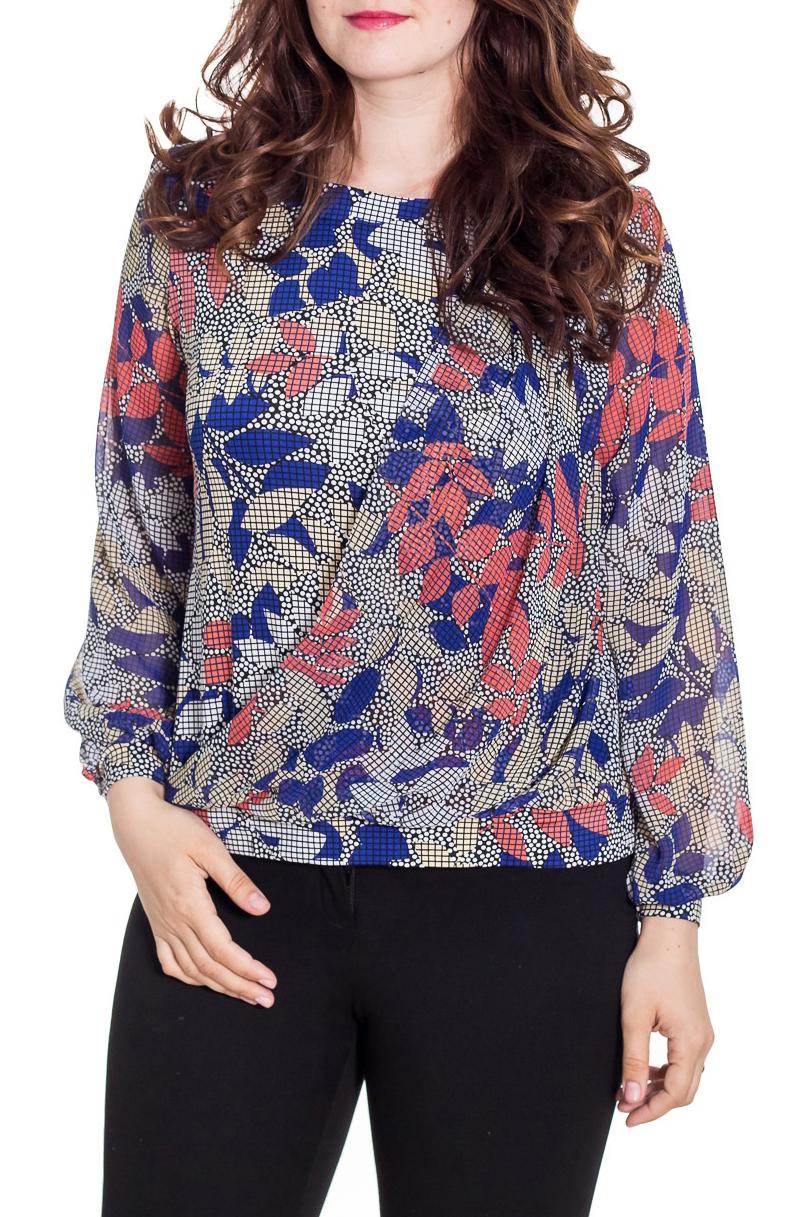 БлузкаБлузки<br>Цветная блузка свободного силуэта с длинными рукавами. Модель выполнена из приятного материала. Отличный выбор на любой случай.  Цвет: серый, синий, коралловый, бежевый  Рост девушки-фотомодели 180 см<br><br>Горловина: С- горловина<br>По материалу: Блузочная ткань,Вискоза<br>По рисунку: Растительные мотивы,С принтом,Цветные<br>По сезону: Весна,Зима,Лето,Осень,Всесезон<br>По силуэту: Свободные<br>По стилю: Повседневный стиль<br>По элементам: С манжетами<br>Рукав: Длинный рукав<br>Размер : 48,50,52,58<br>Материал: Холодное масло + Шифон<br>Количество в наличии: 4