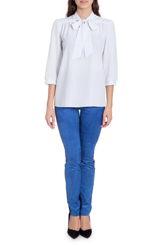 БлузкаБлузки<br>Универсальная белая блузка прямого силуэта. Модель выполнена из приятного материала. Отличный выбор для любого случая.  Цвет: белый  Рост девушки-фотомодели 170 см<br><br>По материалу: Блузочная ткань,Вискоза<br>По рисунку: Однотонные<br>По сезону: Весна,Зима,Лето,Осень,Всесезон<br>По силуэту: Прямые<br>По стилю: Повседневный стиль<br>По элементам: С декором<br>Рукав: Рукав три четверти<br>Размер : 44,46,48,50<br>Материал: Блузочная ткань<br>Количество в наличии: 6