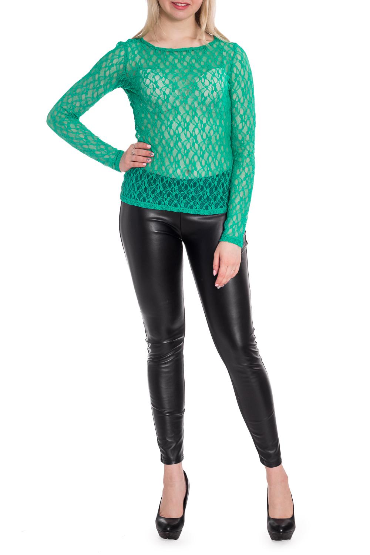 БлузкаБлузки<br>Полупрозрачная блузка с длинными рукавами. Модель выполнена из однотонного гипюра. Отличный выбор для эффектного выхода.  В изделии использованы цвета: зеленый  Рост девушки-фотомодели 170 см<br><br>Горловина: С- горловина<br>По материалу: Гипюр<br>По рисунку: Однотонные<br>По сезону: Весна,Зима,Лето,Осень,Всесезон<br>По силуэту: Полуприталенные<br>По стилю: Нарядный стиль<br>Рукав: Длинный рукав<br>Размер : 44,48<br>Материал: Гипюр<br>Количество в наличии: 2