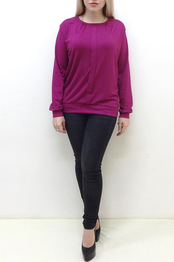 БлузкаБлузки<br>Удлиненная блузка свободного силуэта на поясе. Модель выполнена из однотонной мягкой вискозы. Отличный выбор для повседневного гардероба.  Цвет: фуксия  Рост девушки-фотомодели 162 см<br><br>Горловина: С- горловина<br>По материалу: Вискоза<br>По рисунку: Однотонные<br>По сезону: Весна,Зима,Лето,Осень,Всесезон<br>По силуэту: Прямые<br>По стилю: Повседневный стиль<br>По элементам: С декором,С манжетами<br>Рукав: Длинный рукав<br>Размер : 48,50,52<br>Материал: Вискоза<br>Количество в наличии: 4