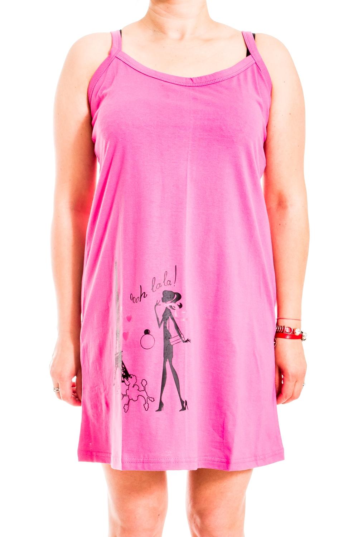 ТуникаТуники<br>Хлопковая туника на тонких бретелях. Домашняя одежда, прежде всего, должна быть удобной, практичной и красивой. В нашей домашней одежде Вы будете чувствовать себя комфортно, особенно, по вечерам после трудового дня.  В изделии использованы цвета: розовый, черный  Ростовка изделия 170 см.<br><br>Горловина: С- горловина<br>По длине: Удлиненные<br>По рисунку: Цветные,С принтом<br>По сезону: Весна,Зима,Лето,Осень,Всесезон<br>По силуэту: Полуприталенные<br>Рукав: Без рукавов<br>По материалу: Трикотаж,Хлопок<br>Размер : 46<br>Материал: Трикотаж<br>Количество в наличии: 1