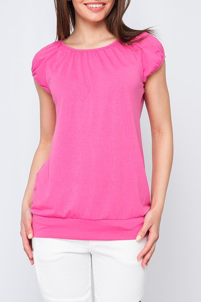 БлузкаБлузки<br>Женская блуза полуприлегающего силуэта, выполненая из приятной к телу ткани. Яркий цвет не оставит вас без внимания и позволит вас ощущать себя комфортно в любой ситуации. Модель можно комбинировать с джинсами, брюками и юбками.   Параметры изделия:  42 размер: обхват по линии груди - 94см, обхват по низу изделия - 83см, длина по спинке - 57см; 56 размер: обхват по линии груди - 118см, обхват по низу изделия - 100см, длина по спинке - 62см.  Цвет: розовый  Рост девушки-фотомодели 170 см<br><br>Горловина: С- горловина<br>По материалу: Вискоза<br>По рисунку: Однотонные<br>По сезону: Весна,Зима,Лето,Осень,Всесезон<br>По силуэту: Полуприталенные<br>По стилю: Повседневный стиль,Летний стиль<br>Рукав: Короткий рукав<br>Размер : 42,44,46,50,52,54<br>Материал: Вискоза<br>Количество в наличии: 6