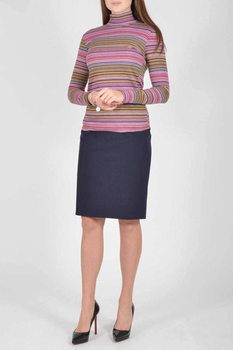 БлузкаВодолазки<br>Очаровательная женская водолазка с воротником стойка и длинными рукавами. Модель станет идеальным дополнением к Вашему повседневному гардеробу.  Цвет: розовый и др.  Рост девушки-фотомодели 170 см<br><br>Воротник: Стойка<br>По материалу: Трикотаж<br>По рисунку: В полоску,Цветные,С принтом<br>По сезону: Зима,Осень,Весна<br>По силуэту: Приталенные<br>По стилю: Кэжуал,Повседневный стиль<br>Рукав: Длинный рукав<br>Размер : 54,56<br>Материал: Трикотаж<br>Количество в наличии: 2
