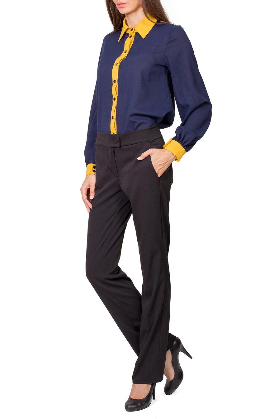 БлузкаБлузки<br>Прекрасная блузка с застежкой на пуговицы и длинными рукавами. Модель выполнена из качественного материала актуальной расцветки. Отличный вариант для любого случая.  Цвет: синий, желтый  Рост девушки-фотомодели 182 см.<br><br>Воротник: Рубашечный<br>Застежка: С пуговицами<br>По материалу: Тканевые<br>По образу: Город,Свидание<br>По рисунку: Цветные<br>По сезону: Весна,Всесезон,Зима,Лето,Осень<br>По силуэту: Приталенные<br>По стилю: Повседневный стиль<br>Рукав: Длинный рукав<br>По элементам: С манжетами<br>Размер : 42,44,46,48,50<br>Материал: Блузочная ткань<br>Количество в наличии: 6