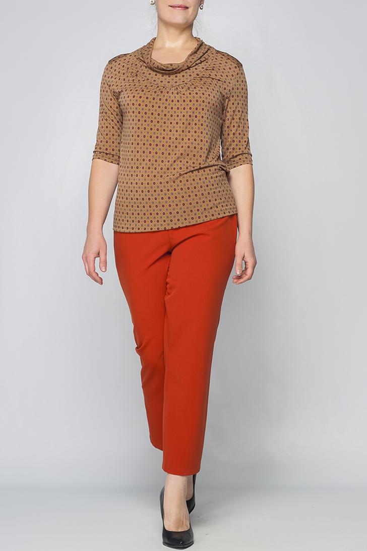 БлузкаБлузки<br>Прекрасная блузка с рукавами 3/4. Модель выполнена из приятного материала. Отличный выбор для любого случая.  Параметры изделия:  46 размер: обхват груди - 92,5 см, обхват бедер - 92 см, длина рукава - 31,5 см, длина изделия - 61,5;  52 размер: обхват груди - 104,5 см, обхват бедер - 104 см, длина рукава - 32,5 см, длина изделия - 64,5.  Цвет: бежевый, мультицвет<br><br>Горловина: Качель<br>По материалу: Вискоза,Трикотаж<br>По рисунку: Геометрия,Цветные,С принтом<br>По сезону: Весна,Всесезон,Зима,Лето,Осень<br>По силуэту: Приталенные<br>По стилю: Повседневный стиль<br>Рукав: Рукав три четверти<br>Размер : 48,50,52,54,56,58,60<br>Материал: Холодное масло<br>Количество в наличии: 7