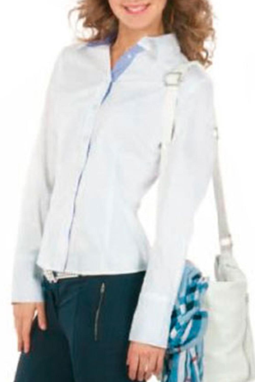 РубашкаРубашки<br>Женская рубашка с длинными рукавами. Модель выполнена из приятного материала. Отличный выбор для повседневного и делового гардероба.  Цвет: белый, голубой<br><br>Воротник: Рубашечный<br>По образу: Город,Офис<br>По сезону: Весна,Всесезон,Зима,Лето,Осень<br>Рукав: Длинный рукав<br>По материалу: Хлопок<br>По стилю: Офисный стиль,Повседневный стиль,Классический стиль<br>Застежка: С пуговицами<br>По элементам: С манжетами<br>По силуэту: Приталенные<br>Размер : 48<br>Материал: Хлопок<br>Количество в наличии: 2