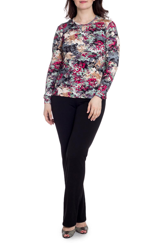БлузкаБлузки<br>Цветная блузка с круглой горловиной и длинными рукавами. Модель выполнена из мягкой вискозы. Отличный выбор для повседневного гардероба.  В изделии использованы цвета: серый, бежевый, розовый и др.  Рост девушки-фотомодели 180 см.<br><br>Горловина: С- горловина<br>По материалу: Вискоза,Трикотаж<br>По рисунку: С принтом,Цветные<br>По сезону: Весна,Зима,Лето,Осень,Всесезон<br>По силуэту: Приталенные<br>По стилю: Повседневный стиль<br>Рукав: Длинный рукав<br>Размер : 48,56<br>Материал: Вискоза<br>Количество в наличии: 2