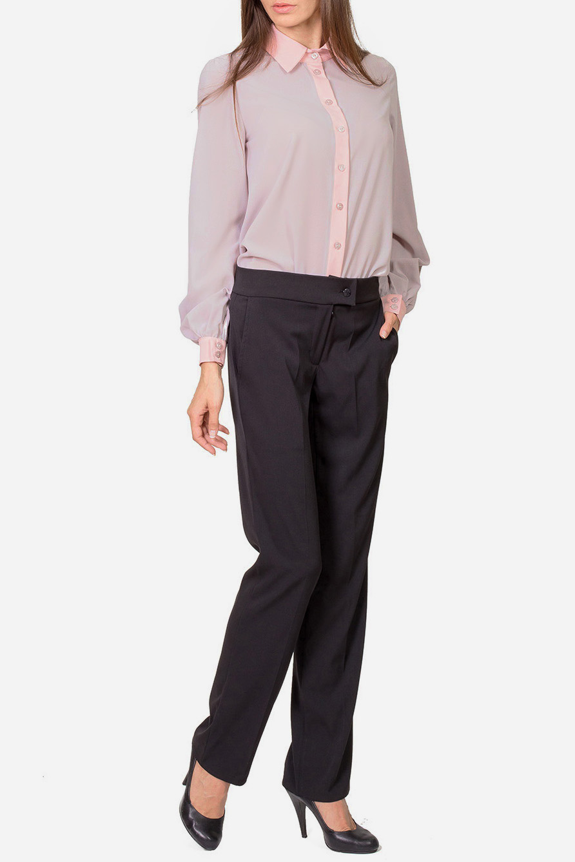 БлузкаБлузки<br>Прекрасная блузка с застежкой на пуговицы и длинными рукавами. Модель выполнена из качественного материала актуальной расцветки. Отличный вариант для любого случая.  Цвет: розовый  Рост девушки-фотомодели 182 см.<br><br>Воротник: Рубашечный<br>Застежка: С пуговицами<br>По материалу: Тканевые<br>По рисунку: Однотонные<br>По сезону: Весна,Всесезон,Зима,Лето,Осень<br>По силуэту: Приталенные<br>По стилю: Офисный стиль,Повседневный стиль<br>Рукав: Длинный рукав<br>По элементам: С манжетами<br>Размер : 42,44,46<br>Материал: Блузочная ткань<br>Количество в наличии: 5