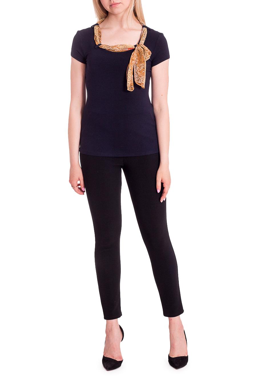 ДжемперБлузки<br>Красивая блузка с короткими рукавами и декоративным шарфиком. Модель выполнена из приятного материала. Отличный выбор для любого случая. Ростовка изделия 164 см.  В изделии использованы цвета: синий и др.  Рост девушки-фотомодели 170 см  Параметры размеров: 42 размер - обхват груди 84 см., обхват талии 66 см., обхват бедер 90 см. 44 размер - обхват груди 88 см., обхват талии 70 см., обхват бедер 94 см. 46 размер - обхват груди 92 см., обхват талии 74 см., обхват бедер 98 см. 48 размер - обхват груди 96 см., обхват талии 78 см., обхват бедер 102 см. 50 размер - обхват груди 100 см., обхват талии 82 см., обхват бедер 106 см. 52 размер - обхват груди 104 см., обхват талии 86 см., обхват бедер 110 см. 54 размер - обхват груди 108 см., обхват талии 92 см., обхват бедер 116 см. 56 размер - обхват груди 112 см., обхват талии 98 см., обхват бедер 122 см. 58 размер - обхват груди 116 см., обхват талии 104 см., обхват бедер 128 см. 60 размер - обхват груди 120 см., обхват талии 110 см., обхват бедер 134 см. 62 размер - обхват груди 124 см., обхват талии 118 см., обхват бедер 140 см. 64 размер - обхват груди 128 см., обхват талии 126 см., обхват бедер 146 см. 66 размер - обхват груди 132 см., обхват талии 132 см., обхват бедер 152 см. 68 размер - обхват груди 138 см., обхват талии 140 см., обхват бедер 158 см.<br><br>Горловина: С- горловина<br>Материал: Вискоза<br>Рисунок: Однотонные<br>Рукав: Короткий рукав<br>Сезон: Весна,Всесезон,Зима,Лето,Осень<br>Силуэт: Полуприталенные<br>Стиль: Летний стиль,Повседневный стиль<br>Элементы: С декором<br>Размер : 44,46,48,50,52,54,56<br>Материал: Вискоза + Шифон<br>Количество в наличии: 7