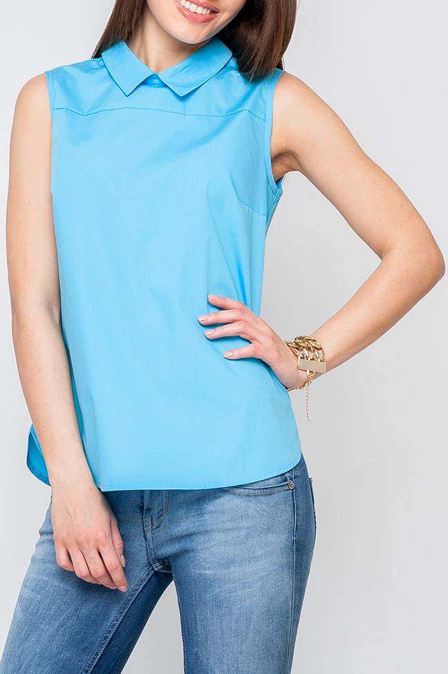 БлузкаБлузки<br>Женская блуза из легкой ткани, модель свободного покроя, нежный цвет подойдет как и для романтического свидания так и для деловой встречи, идеально будет сочетаться с брюками.   Параметры размеров: 44 размер: обхват груди - 96 см, обхват по линии бедер - 104 см, длина по спинке - 61 см; 52 размер: обхват груди - 112 см, обхват по линии бедер - 120 см, длина по спинке - 64 см  Цвет: голубой  Рост девушки-фотомодели 170 см<br><br>Воротник: Отложной<br>Застежка: С молнией<br>По материалу: Тканевые,Хлопок<br>По рисунку: Однотонные<br>По сезону: Весна,Зима,Лето,Осень,Всесезон<br>По силуэту: Свободные<br>По стилю: Повседневный стиль<br>По элементам: С отделочной фурнитурой<br>Рукав: Без рукавов<br>Размер : 56<br>Материал: Блузочная ткань<br>Количество в наличии: 1
