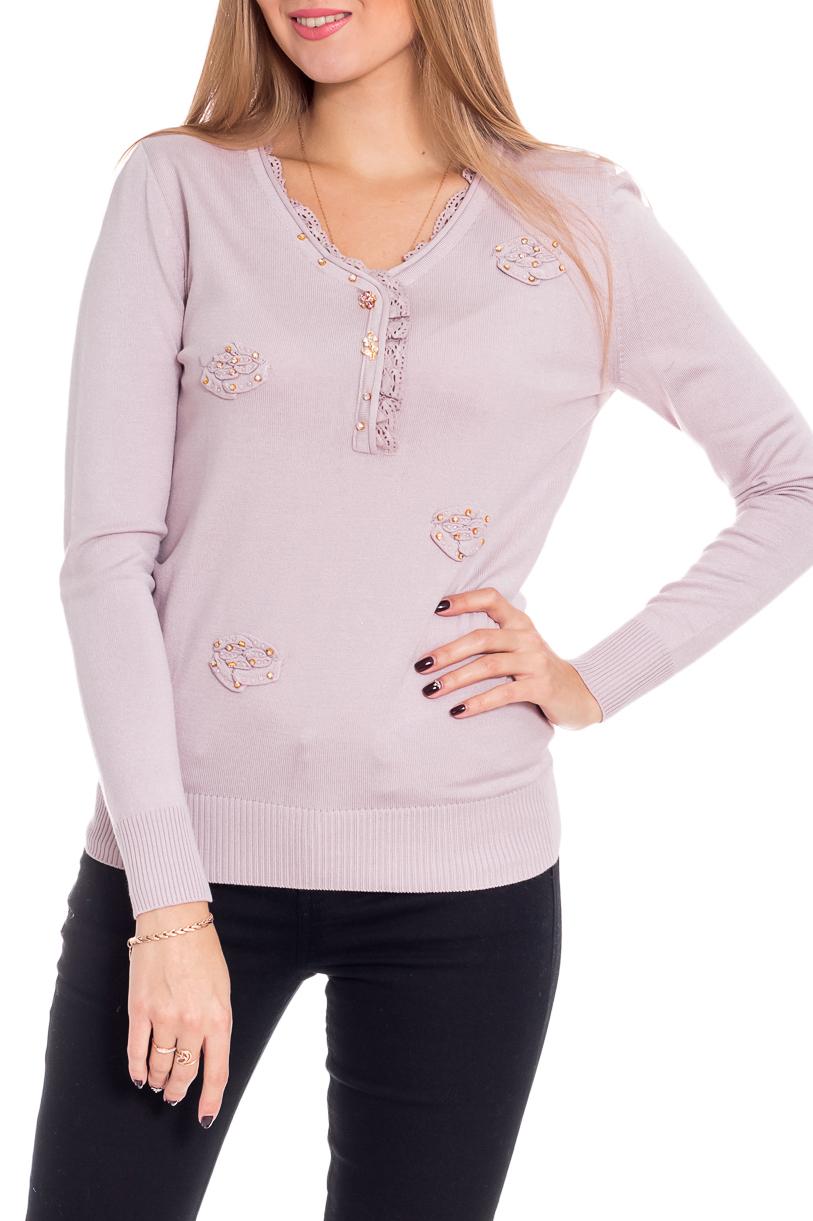 БлузкаБлузки<br>Женственная блузка с длинными рукавами. Модель выполнена из приятного материала. Отличный выбор для повседневного гардероба.  В изделии использованы цвета: розовый  Рост девушки-фотомодели 170 см<br><br>Горловина: С- горловина<br>По материалу: Вискоза<br>По образу: Город,Свидание<br>По рисунку: Однотонные<br>По сезону: Весна,Зима,Лето,Осень,Всесезон<br>По силуэту: Прямые<br>По стилю: Повседневный стиль,Романтический стиль<br>По элементам: С воланами и рюшами,С декором<br>Рукав: Длинный рукав<br>Размер : 44-46<br>Материал: Вискоза<br>Количество в наличии: 1