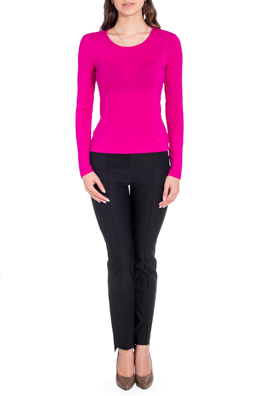 ДжемперЛонгсливы<br>Однотонный лонгслив с круглой горловиной и длинными рукавами. Модель выполнена из мягкой вискозы. Отличный выбор для базового гардероба.   Цвет: розовый  Рост девушки-фотомодели 170 см<br><br>Горловина: С- горловина<br>По рисунку: Однотонные<br>По сезону: Весна,Зима,Лето,Осень,Всесезон<br>По силуэту: Полуприталенные<br>По стилю: Кэжуал,Повседневный стиль<br>Рукав: Длинный рукав<br>Размер : 44,46,48,50,52,54<br>Материал: Вискоза<br>Количество в наличии: 13