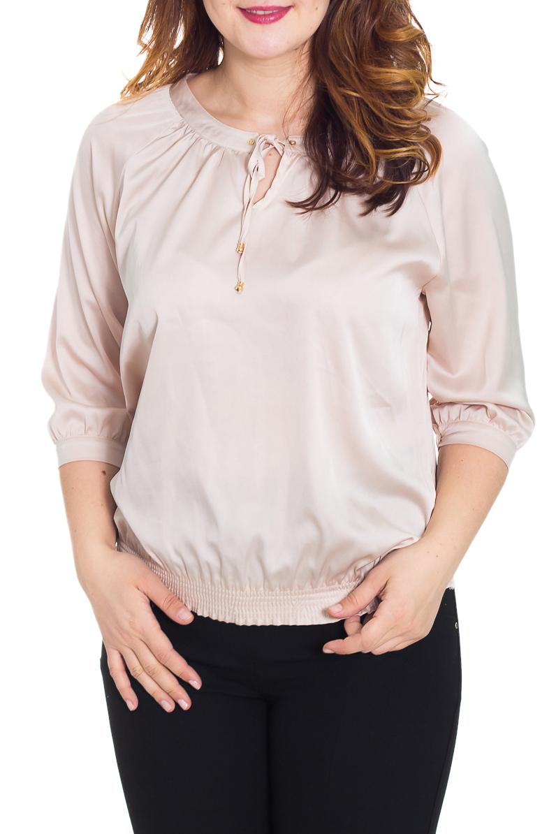 БлузкаБлузки<br>Яркая блузка свободного силуэта. Модель выполнена из приятного материала. Отличный выбор для повседневного гардероба.  Цвет: бежевый  Рост девушки-фотомодели 180 см.<br><br>Горловина: С- горловина<br>Застежка: С завязками<br>По материалу: Вискоза,Тканевые<br>По рисунку: Однотонные<br>По сезону: Весна,Всесезон,Зима,Лето,Осень<br>По силуэту: Свободные<br>По стилю: Повседневный стиль<br>По элементам: С декором,С манжетами<br>Рукав: Длинный рукав<br>Размер : 48,50,52<br>Материал: Блузочная ткань<br>Количество в наличии: 3