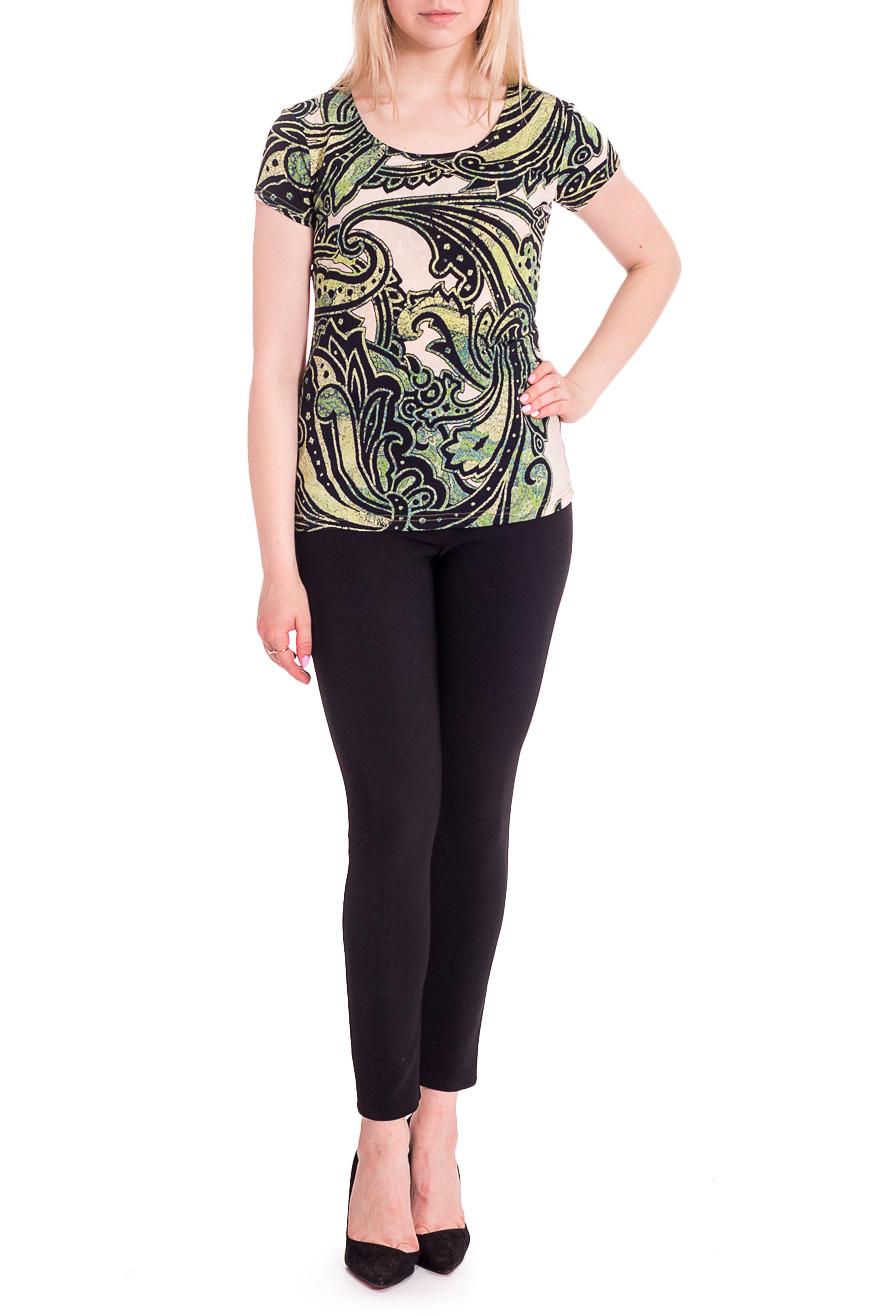 ДжемперБлузки<br>Легкая блузка с короткими рукавами и круглым вырезом горловины. Модель выполнена из приятного материала. Отличный выбор для любого случая.Ростовка изделия 164 см.В изделии использованы цвета: зеленый, бежевый и др.Рост девушки-фотомодели 170 смПараметры размеров:42 размер - обхват груди 84 см., обхват талии 66 см., обхват бедер 90 см.44 размер - обхват груди 88 см., обхват талии 70 см., обхват бедер 94 см.46 размер - обхват груди 92 см., обхват талии 74 см., обхват бедер 98 см.48 размер - обхват груди 96 см., обхват талии 78 см., обхват бедер 102 см.50 размер - обхват груди 100 см., обхват талии 82 см., обхват бедер 106 см.52 размер - обхват груди 104 см., обхват талии 86 см., обхват бедер 110 см.54 размер - обхват груди 108 см., обхват талии 92 см., обхват бедер 116 см.56 размер - обхват груди 112 см., обхват талии 98 см., обхват бедер 122 см.58 размер - обхват груди 116 см., обхват талии 104 см., обхват бедер 128 см.60 размер - обхват груди 120 см., обхват талии 110 см., обхват бедер 134 см.62 размер - обхват груди 124 см., обхват талии 118 см., обхват бедер 140 см.64 размер - обхват груди 128 см., обхват талии 126 см., обхват бедер 146 см.66 размер - обхват груди 132 см., обхват талии 132 см., обхват бедер 152 см.68 размер - обхват груди 138 см., обхват талии 140 см., обхват бедер 158 см.<br><br>Горловина: С- горловина<br>Материал: Трикотаж<br>Рисунок: С принтом,Цветные,Этнические<br>Рукав: Короткий рукав<br>Сезон: Весна,Всесезон,Зима,Лето,Осень<br>Силуэт: Приталенные<br>Стиль: Летний стиль,Повседневный стиль<br>Размер : 46,48,52,54<br>Материал: Холодное масло<br>Количество в наличии: 4