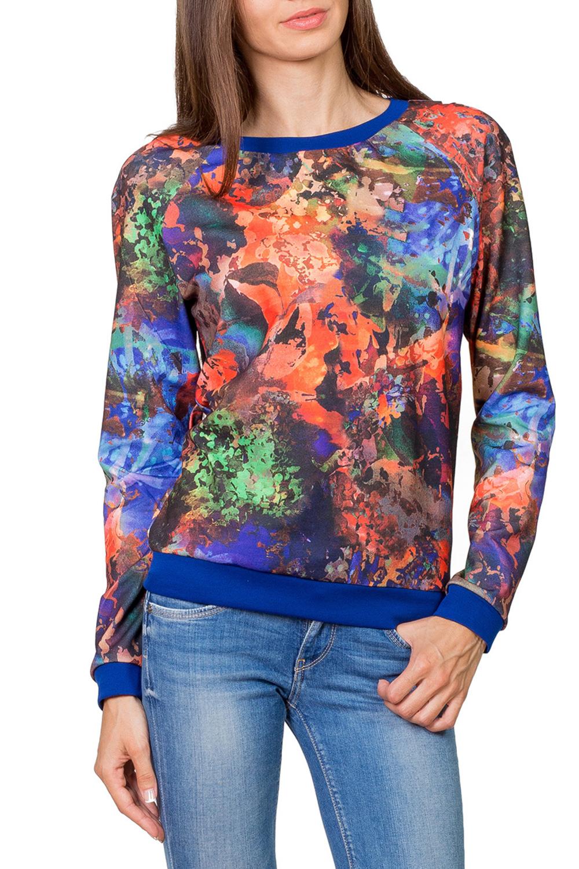 ДжемперДжемперы<br>Превосходный джемпер с длинным рукавом и округлой горловиной выполнен из трикотажного полотна тонкой вязки. Полуприталенный силуэт. Прекрасно подойдет к джинсам и брюкам.  Цвет: синий, оранжевый, зеленый  Рост девушки-фотомодели 182 см.<br><br>Горловина: С- горловина<br>По материалу: Вискоза,Трикотаж<br>По образу: Город<br>По рисунку: Цветные,С принтом<br>По сезону: Весна,Осень<br>По силуэту: Полуприталенные<br>По стилю: Повседневный стиль<br>Рукав: Длинный рукав<br>По элементам: С манжетами<br>Размер : 42,44,46,48,52<br>Материал: Джерси<br>Количество в наличии: 5