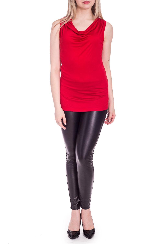 БлузкаБлузки<br>Яркая блузка без рукавов с горловиной quot;качельquot;. Модель выполнена из мягкой вискозы. Отличный выбор для повседневного гардероба.  Цвет: красный  Рост девушки-фотомодели 170 см.<br><br>Горловина: Качель<br>По материалу: Вискоза<br>По рисунку: Однотонные<br>По сезону: Весна,Зима,Лето,Осень,Всесезон<br>По силуэту: Приталенные<br>По стилю: Нарядный стиль,Повседневный стиль<br>Рукав: Без рукавов<br>Размер : 46,48,50<br>Материал: Вискоза<br>Количество в наличии: 3