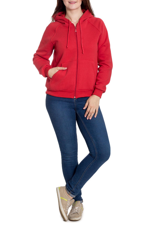 ТолстовкаСпортивная одежда<br>Теплая толстовка на флисовом подкладе. Отличный выбор для занятий спортом или активного отдыха.  Размеры 48, 50 на рост 170-176 см. Размеры 52,54,56 на рост 176-182 см.  Цвет: красный  Рост девушки-фотомодели 180 см<br><br>Застежка: С молнией<br>По длине: До колена<br>По материалу: Трикотаж,Хлопок<br>По образу: Город,Спорт<br>По рисунку: Однотонные<br>По сезону: Весна,Осень,Зима<br>По стилю: Повседневный стиль,Спортивный стиль<br>По форме: Кофты<br>По элементам: С капюшоном,С карманами,С манжетами<br>Рукав: Длинный рукав<br>Размер : 48,50,52,54<br>Материал: Трикотаж<br>Количество в наличии: 7