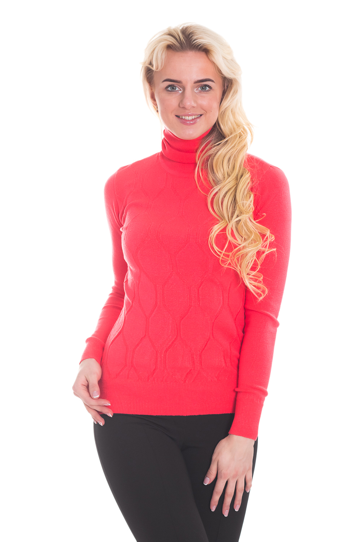 ВодолазкаВодолазки<br>Однотонная водолазка с длинными рукавами. Вязаный трикотаж - это красота, тепло и комфорт. В вязанной одежде очень легко оставаться женственной и в то же время не замёрзнуть.  Цвет: красный.  Рост девушки-фотомодели 170 см.<br><br>По образу: Город,Офис,Свидание<br>По стилю: Повседневный стиль,Классический стиль,Кэжуал<br>По материалу: Вязаные<br>По рисунку: Однотонные<br>По сезону: Зима,Осень,Весна<br>По силуэту: Полуприталенные<br>Воротник: Стойка<br>Рукав: Длинный рукав<br>Размер: 44<br>Материал: 100% акрил<br>Количество в наличии: 1