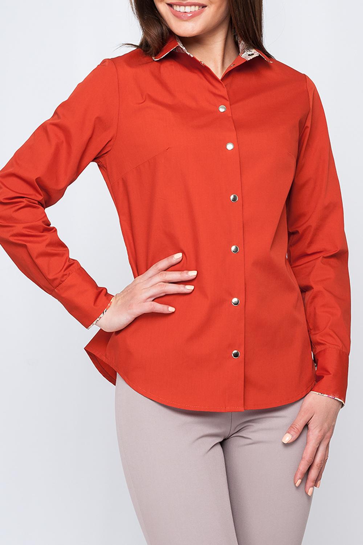 РубашкаРубашки<br>Классическая рубашка с длинными рукавами и застежкой на кнопки.  Параметры изделия:  44 размер: обхват груди - 95,5 см, обхват по линии бедер - 102,5 см, длина по спинке - 66 см, длина рукава - 60 см; 52 размер: обхват груди - 111,5 см, обхват по линии бедер - 118,5 см, длина по спинке - 69 см, длина рукава - 61 см  Цвет: оранжевый  Рост девушки-фотомодели 170 см<br><br>Воротник: Рубашечный<br>Застежка: С кнопками<br>По материалу: Хлопок<br>По рисунку: Однотонные<br>По сезону: Весна,Зима,Лето,Осень,Всесезон<br>По силуэту: Полуприталенные<br>По стилю: Классический стиль,Офисный стиль,Повседневный стиль<br>По элементам: С манжетами<br>Рукав: Длинный рукав<br>Размер : 40<br>Материал: Хлопок<br>Количество в наличии: 2