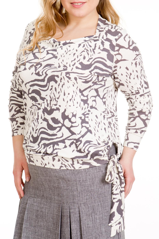 БлузкаБлузки<br>Красивая блузка с длинными рукавами. Модель выполнена из мягкой вискозы. Отличный выбор для любого случая.  В изделии использованы цвета: молочный, коричневый  Ростовка изделия 170 см.  Параметры размеров: 40 размер - обхват груди 80 см., обхват талии 62 см., обхват бедер 88 см. 42 размер - обхват груди 84 см., обхват талии 66 см., обхват бедер 92 см. 44 размер - обхват груди 88 см., обхват талии 70 см., обхват бедер 96 см. 46 размер - обхват груди 92 см., обхват талии 74 см., обхват бедер 100 см. 48 размер - обхват груди 96 см., обхват талии 78 см., обхват бедер 104 см. 50 размер - обхват груди 100 см., обхват талии 82 см., обхват бедер 108 см. 52 размер - обхват груди 104 см., обхват талии 86 см., обхват бедер 112 см. 54 размер - обхват груди 108 см., обхват талии 92 см., обхват бедер 116 см. 56 размер - обхват груди 112 см., обхват талии 97 см., обхват бедер 120 см. 58 размер - обхват груди 116 см., обхват талии 102 см., обхват бедер 124 см. 60 размер - обхват груди 120 см., обхват талии 106 см., обхват бедер 128 см.<br><br>Горловина: Качель<br>По материалу: Вискоза<br>По образу: Город,Свидание<br>По рисунку: С принтом,Цветные<br>По сезону: Весна,Зима,Лето,Осень,Всесезон<br>По силуэту: Полуприталенные<br>По стилю: Повседневный стиль<br>По элементам: С декором<br>Рукав: Длинный рукав<br>Размер : 48,52,56<br>Материал: Вискоза<br>Количество в наличии: 6