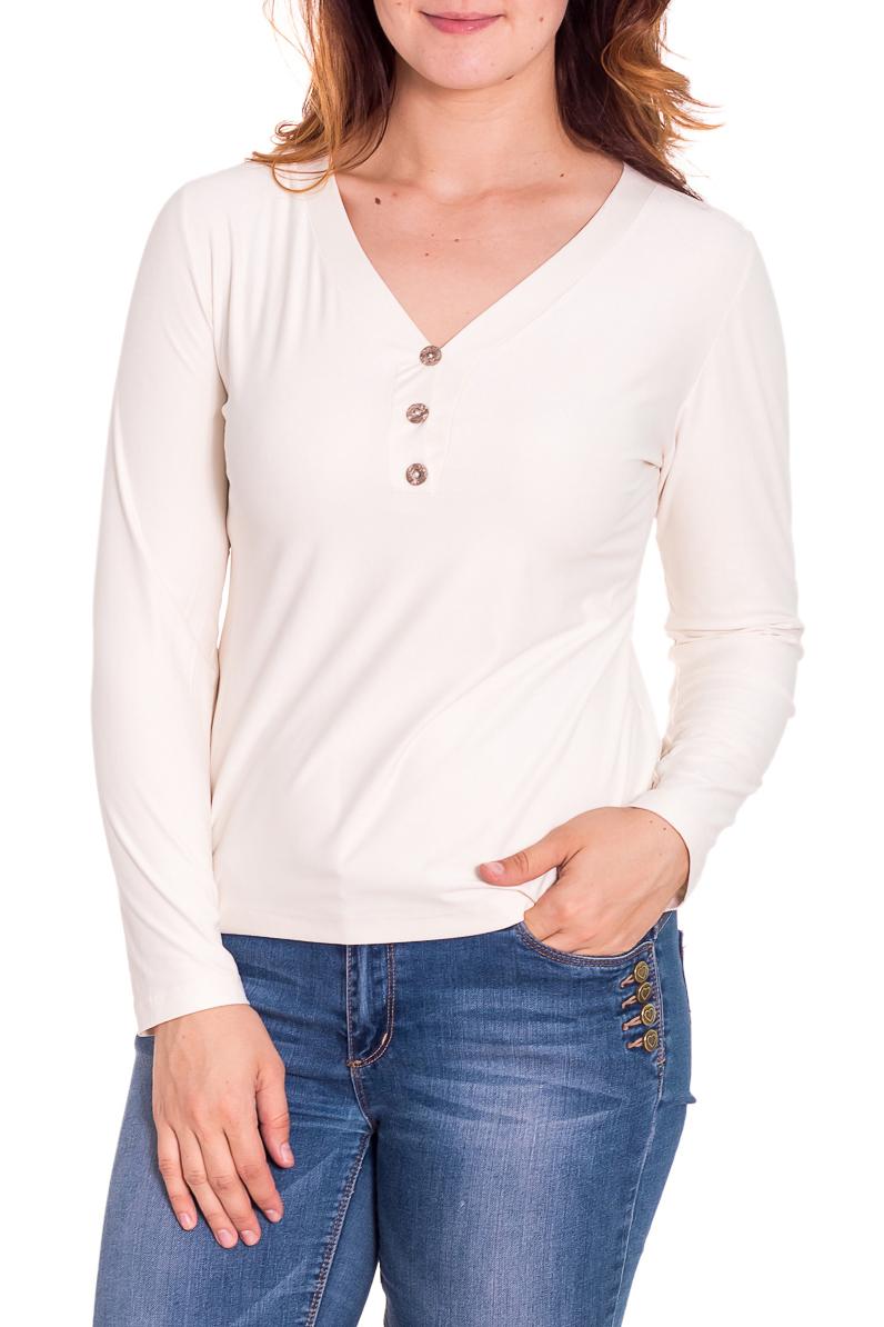 ПуловерДжемперы<br>Прелестный пуловер с длинными рукавами. Модель выполнена из мягкой вискозы. Отличный выбор для повседневного и делового гардероба.  Цвет: молочный  Рост девушки-фотомодели 180 см<br><br>Горловина: V- горловина<br>По рисунку: Однотонные<br>По сезону: Весна,Осень<br>По силуэту: Полуприталенные<br>По стилю: Повседневный стиль,Классический стиль,Кэжуал,Офисный стиль<br>Рукав: Длинный рукав<br>По материалу: Вискоза,Трикотаж<br>Размер : 52<br>Материал: Вискоза<br>Количество в наличии: 1