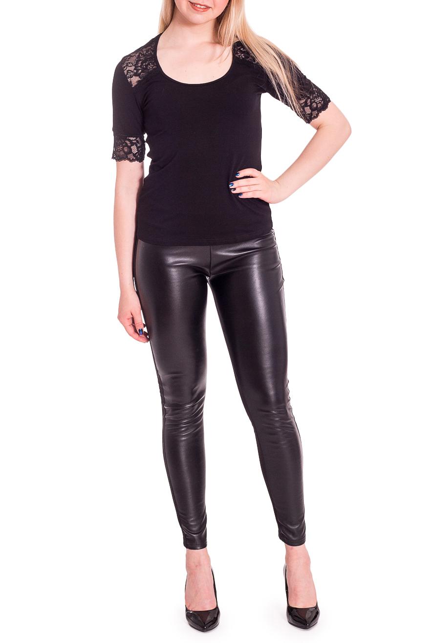 БлузкаБлузки<br>Блуза полуприлегающего силуэта, кокетка переда и короткий рукав отделаны эластичным кружевом. Модель выполнена из мягкой вискозы. Отличный выбор для любого случая.  В изделии использованы цвета: черный  Рост девушки-фотомодели 170 см.<br><br>Горловина: С- горловина<br>Материал: Вискоза,Гипюр,Трикотаж<br>Рисунок: Однотонные<br>Рукав: До локтя<br>Сезон: Весна,Зима,Лето,Осень,Всесезон<br>Силуэт: Приталенные<br>Стиль: Нарядный стиль,Повседневный стиль<br>Размер : 44,46,48,50,52,54<br>Материал: Трикотаж + Гипюр<br>Количество в наличии: 12
