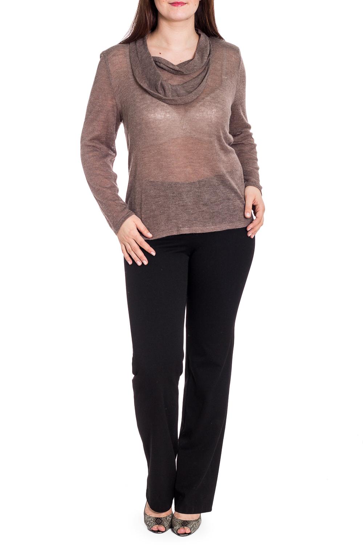 БлузкаБлузки<br>Однотонная блузка с длинными рукавами и интересной горловиной. Модель выполнена из приятного материала. Отличный выбор для любого случая.  В изделии использованы цвета: бежевый  Рост девушки-фотомодели 180 см<br><br>Горловина: Фигурная горловина<br>По материалу: Вязаные,Трикотаж<br>По рисунку: Однотонные<br>По сезону: Весна,Зима,Лето,Осень,Всесезон<br>По силуэту: Полуприталенные<br>По стилю: Повседневный стиль<br>По элементам: С декором<br>Рукав: Длинный рукав<br>Размер : 60,62,66<br>Материал: Вязаное полотно<br>Количество в наличии: 5