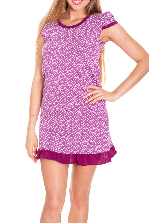 ТуникаТуники<br>Хлопковая туника с короткими рукавами. Домашняя одежда, прежде всего, должна быть удобной, практичной и красивой. В нашей домашней одежде Вы будете чувствовать себя комфортно, особенно, по вечерам после трудового дня.  Цвет: розовый, белый  Рост девушки-фотомодели 170 см.<br><br>Горловина: С- горловина<br>По длине: Удлиненные<br>По рисунку: Цветные,Растительные мотивы,С принтом<br>По сезону: Весна,Зима,Лето,Осень,Всесезон<br>По силуэту: Полуприталенные<br>Рукав: Короткий рукав<br>По материалу: Хлопок<br>Размер : 40-42<br>Материал: Хлопок<br>Количество в наличии: 1
