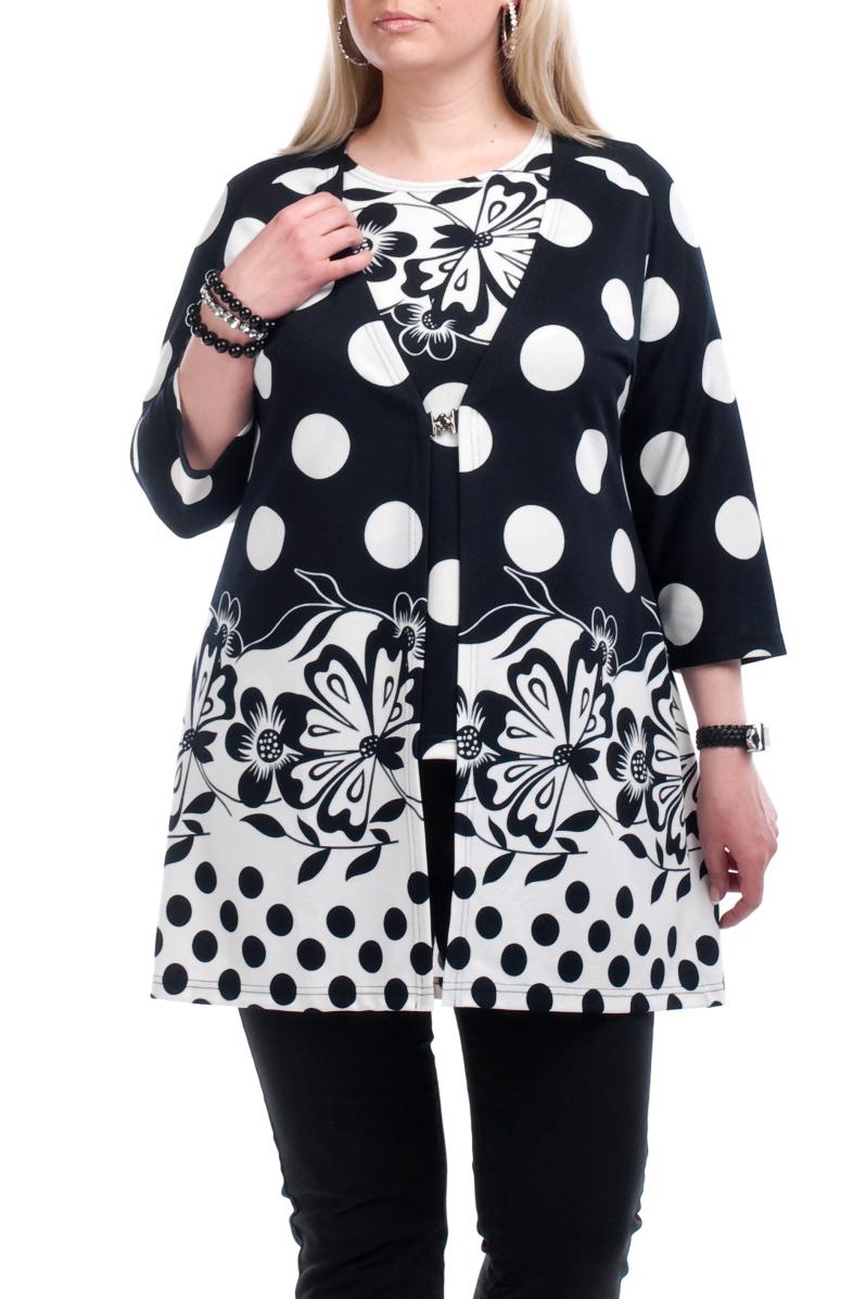 Твинсет (жакет+блузка)