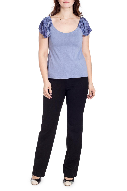 БлузкаБлузки<br>Чудесная блузка с короткими рукавами. Модель выполнена из приятного материала. Отличный выбор для повседневного гардероба.  В изделии использованы цвета: сиреневый, фиолетовый  Рост девушки-фотомодели 180 см.<br><br>Горловина: С- горловина<br>По материалу: Трикотаж,Хлопок<br>По рисунку: С принтом,Цветные<br>По сезону: Весна,Зима,Лето,Осень,Всесезон<br>По силуэту: Полуприталенные<br>По стилю: Повседневный стиль,Летний стиль<br>Рукав: Короткий рукав<br>Размер : 52,60-62,64-66,68-70<br>Материал: Трикотаж<br>Количество в наличии: 9