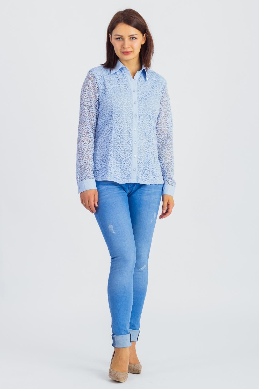 Гипюровая рубашка рубашка до 187 см