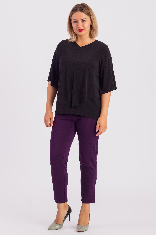 Блузка блузка женская oodji цвет коричневый черный 21404016 17145 3729a размер 42 48 164