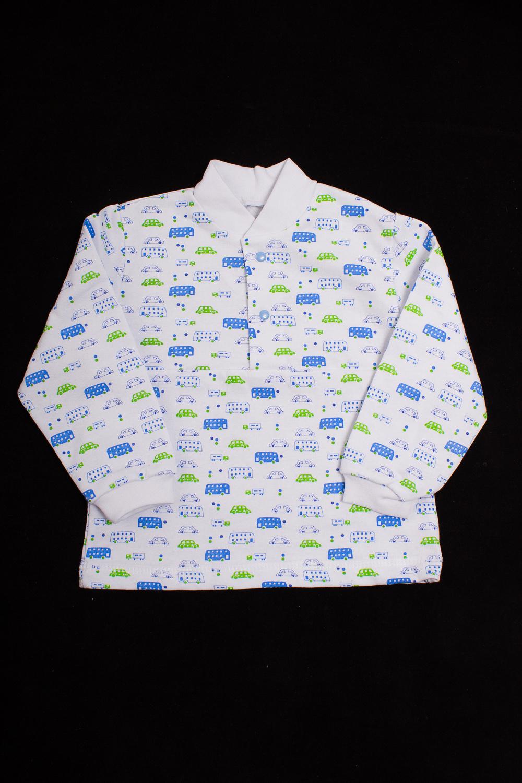 КофточкаКофточки<br>Хлопковая кофточка для новорожденного. Застежка на кнопки.  Цвет: белый, голубой, зеленый  Размер соответствует росту ребенка<br><br>По сезону: Всесезон<br>Размер : 62,80<br>Материал: Хлопок<br>Количество в наличии: 3