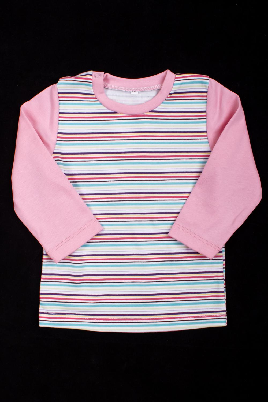 КофточкаКофты<br>Хлопковая кофточка для ребенка  Цвет: розовый, мультицвет  Размер соответствует росту ребенка<br><br>По образу: Повседневные<br>По материалу: Трикотажные,Хлопковые<br>По размеру: Ясельные (от 1 до 3 лет)<br>По рисунку: В полоску,С принтом (печатью),Цветные<br>По сезону: Лето,Осень,Весна,Всесезон,Зима<br>Рукав: Длинный рукав<br>Горловина: С- горловина<br>Размер: 80<br>Материал: 100% хлопок<br>Количество в наличии: 2