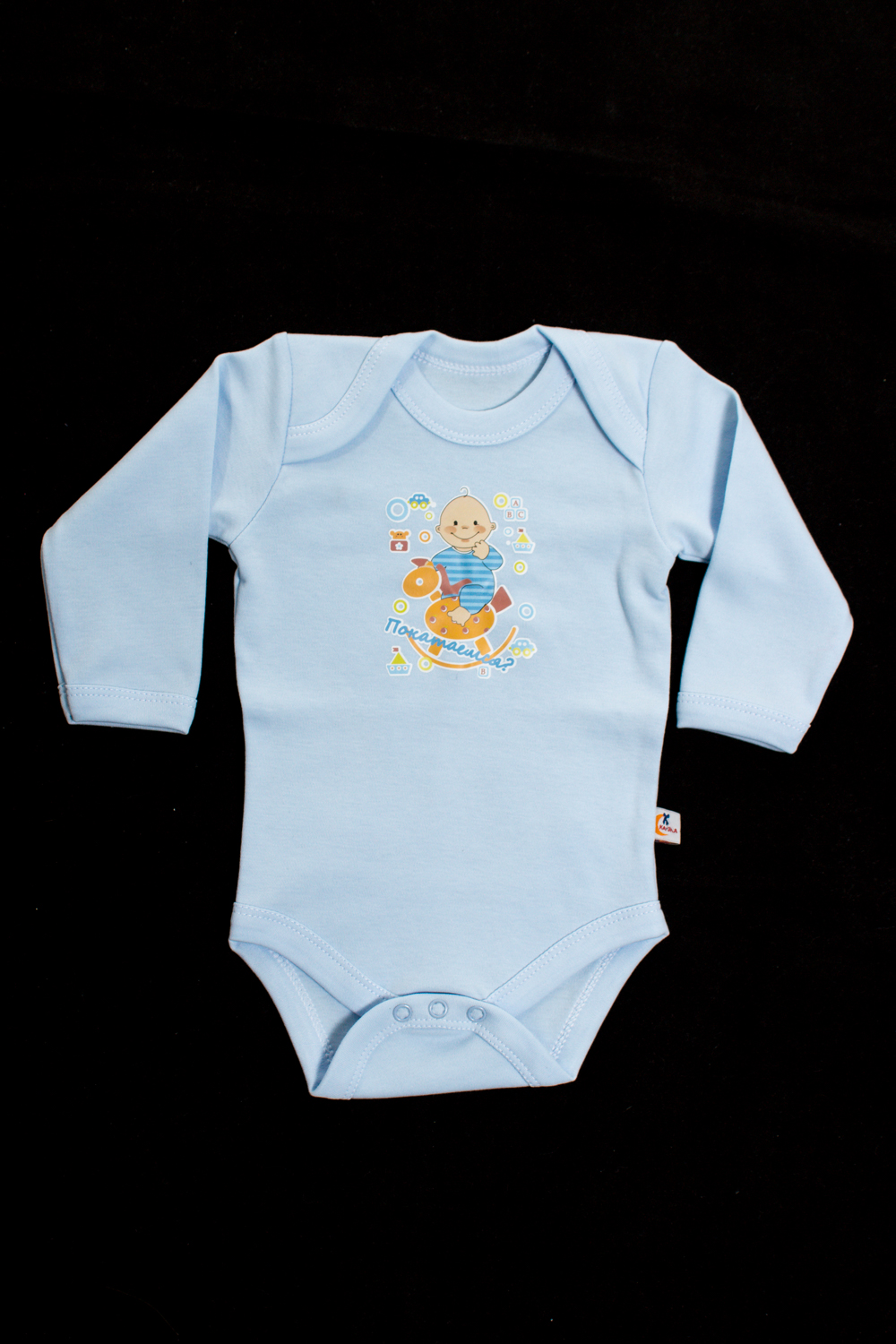БодиКофточки<br>Хлопковое боди для новорожденного  Цвет: голубой  Размер соответствует росту ребенка<br><br>По сезону: Осень,Весна<br>Размер : 62,68,74<br>Материал: Хлопок<br>Количество в наличии: 3
